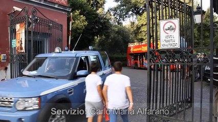 Bosco di Capodimonte in attesa del vertice BCE