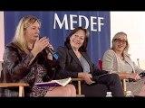 Carole Couvert, Présidente confédérale de la CFE/CGC et Brigitte Dumont, Vice-présidente de l'ANDRH, 13eme rencontre de l'OBSdesRSE  Du dialogue Social aux conversations numériques