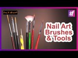 Nail Art Tools and Brushes | Basic Nail Art Designs