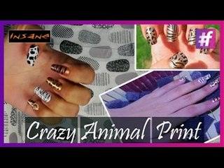 Crazy Animal Nail Art | Animal Print | Insane Nails and Tattoos