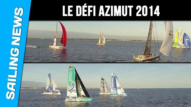 Imoca et Ultimes réunis à Lorient  pour le Défi Azimut 2014