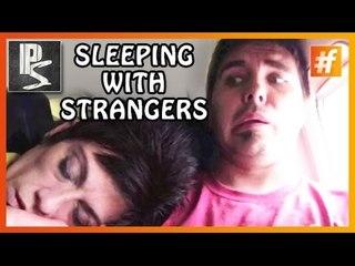 Sleeping With Strangers Prank