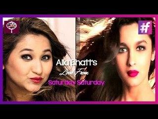 Alia Bhatt's 'Saturday-Saturday' Inspired Look | Makeup Tutorial by Ishita