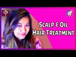 Scalp and Oily Hair Treatment   Sangeeta and Ishita
