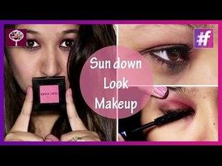 Glamorous Summer Look   DIY Sundown Look Makeup Tutorial