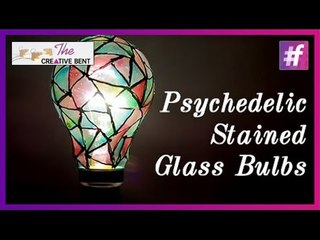 DIY Psychedelic Stained Glass Bulbs