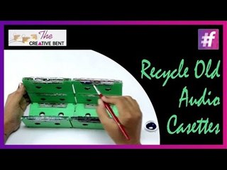 DIY Upscale Old Audio Cassettes to Newspaper Holder