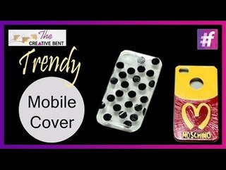 Easy DIY: Moschino and Kate Spade Inspired Designer Phone Covers