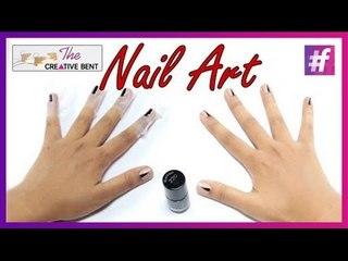 DIY Easy Triangle Nail Art