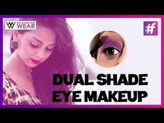 Dual Shade Eye Makeup Tutorial | Shades of Purple for Your Eyes