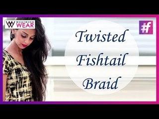 Twisted Fishtail Braid | Hair Tutorial