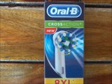Oral-B Braun CrossAction Replacement Rechargeable Toothbrush Heads