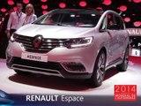 Le Renault Espace en direct du Mondial Auto 2014