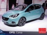 L'Opel Corsa en direct du Mondial Auto 2014