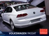 La Volkswagen Passat en direct du Mondial de l'Auto 2014