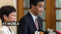 CY Leung responds to Hong Kong protesters