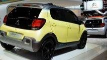 Mondial de l'Auto : Citroën C1 Urban Ride Concept, la baroudeuse des villes