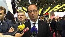 """Hollande: """"L'industrie automobile française s'est redressée"""""""