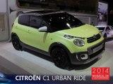 La Citroën C1 Urban Ride en direct du Mondial Auto 2014