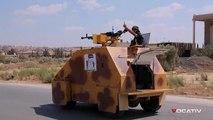 Un tank Syrien contrôlé avec une manette Playstation