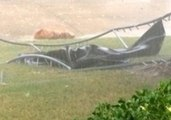 Texas Storms Fire Trampoline to a New Temporary Home