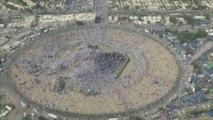 Deux millions de pèlerins sur le Mont Arafat