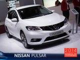 La Nissan Pulsar en direct du Mondial de l'Auto 2014