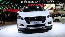 Vidéo Peugeot 508 RXH au Mondial de l'Automobile 2014 - L'argus