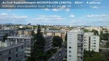 A vendre - appartement - MONTPELLIER (34070) - 4 pièces - 80m²