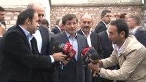 Başbakan Davutoğlu'ndan Bayram Namazı Çıkışı Açıklamalar