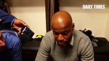Réaction de Raïs M'Bolhi après le match contre Chicago