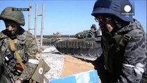 Kiev y los separatistas prorrusos luchan por el control del aeropuerto de Donetsk