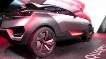 Mondial de l'automobile Paris 2014 Peugeot Concept Quartz