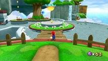 Super Mario Galaxy 2 - Monde 1 - Terrasse des Rigolonimbus : Une pyramide vers les étoiles