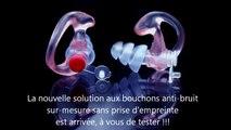CBHS INNOVATION MK4 PROTECTION AUDITIVE BOUCHONS ANTI-BRUIT DEMI-MESURE AVEC FILTRE PROGRESSIF ALVIS-AUDIO. www.cbhs.fr