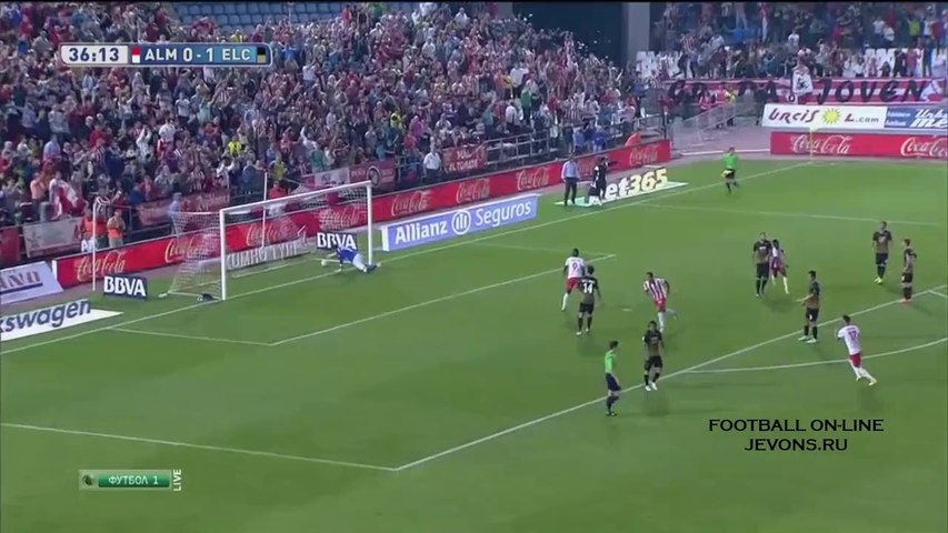 Almeira vs Elche (2-2) Full Highlights 04/10/2014 ~ La Liga [HD]