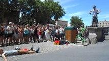 Le bike, spectacle de rue à Avignon