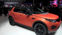 Mondial de l'automobile Paris 2014 Land Rover Discovery