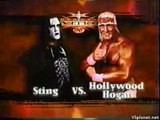 Hulk Hogan vs Sting V, WCW Monday Nitro 23.08.1999