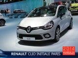 La Renault Clio Initiale Paris en direct du Mondial de l'Auto 2014