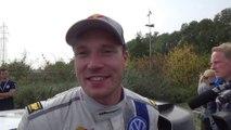 Jari Matti Latvala, vainqueur du rallye de France-Alsace 2014 tente quelques mots en Français