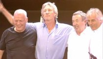 """Pink Floyd - """"Money"""", """"Wish You Were Here"""" e """"Comfortably Numb"""" (Live 8 - 2 luglio 2005)"""