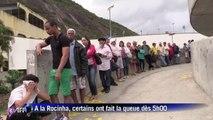 Elections au Brésil: les habitants des favelas aux urnes