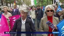 La Manif pour tous toujours déterminée dans les rues de Paris