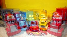 Pixar Cars The Haulers with Mack, King Hauler, and Octane Gain Hauler  a retro re upload from 2010