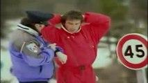 Laurent Baffie - Contrôle de vitesse au ski (Caméra cachée)