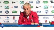 Lundi 6 octobre 2014 : point presse de Didier Deschamps (REPLAY)