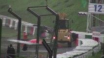 Les images de l'accident de Jules Bianchi au Grand Prix du Japon de Formule 1