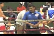 Pelea Miguel Aguilar vs Elvis Vargas - Video Prodesa