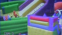 13 children injured as inflatable bounce house overturns